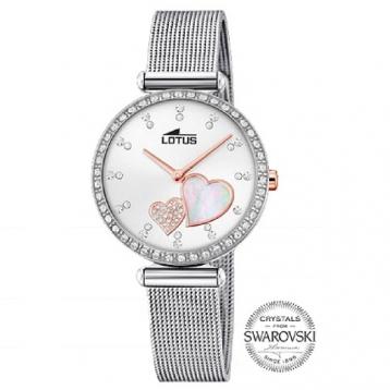 Reloj Lotus Señora Acero y Cristal Swarovski 18616/1