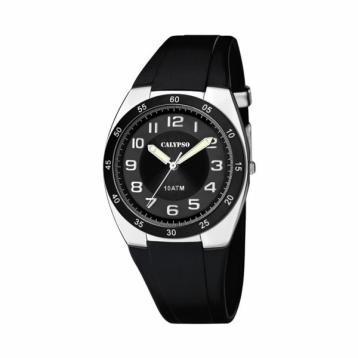 Reloj Calypso Caballero Caucho Negro K5753/6