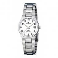 Reloj Lotus Señora Acero Esfera Blanca 15193/2