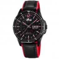 Reloj Lotus Caballero Rojo y Negro 18525/3