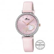 Reloj Lotus Niña Rosa Cristal Swarovski 18618/2