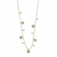 Collar Plata Chapada y Perlas de Agua Dulce Salvatore 213C0041