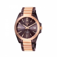 Reloj Tous Señora Drive Combi de Acero Bicolor Rosado/Chocolate 300350570