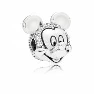 Charm Pandora Clip Retrato Brillante de Mickey 797495CZ