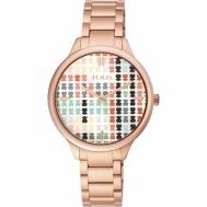 Reloj Tous Señora Tartan Multicolor de Acero Chapado Cobrizo 900350095