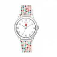 Reloj Tous Tartan Kids de Acero Con Correa de Silicona Multicolor 900350245