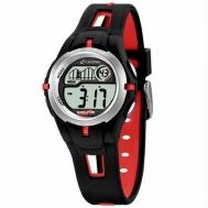 Reloj Calypso Niño Caucho negro y Rojo K5506/1
