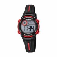 Reloj Calypso Niño Digital Negro y Rojo K6068/6