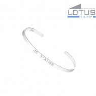 "Pulsera plata Lotus ""Je T'aime"" LP1631-2/1"