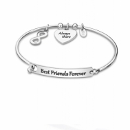 Pulsera Señora Lotus Style Acero Infinito Best Friends Forever LS2017-2/5