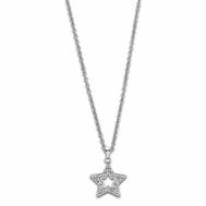 Collar Señora Lotus Style Acero Estrella Circonitas LS2028-1/1