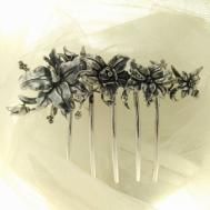 Peina de Metal Diseño Floral 526RO