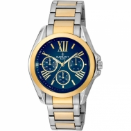 Reloj Radiant Señora Bicolor Esfera Azul RA348204