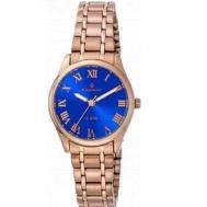 Reloj Radiant Señora Chapado Rosa y Esfera Azul RA366206