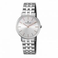 Reloj Radiant Unisex Acero Esfera Blanca RA377201