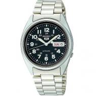 Reloj Seiko Caballero Acero Esfera Negra SNX809K1